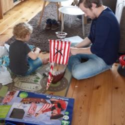 Dafydd en Ifan spelen
