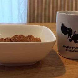 Koffie en pepernoten