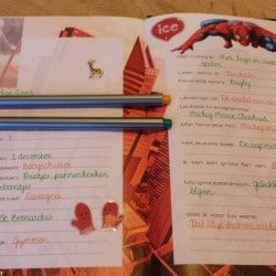 Ifan's eerste week op school - vriendenboekje