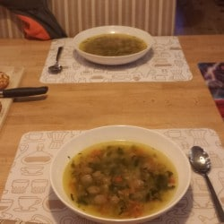 Verse groentesoep