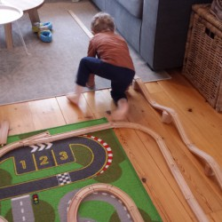 Treinbaan bouwen - Lovely Pictures