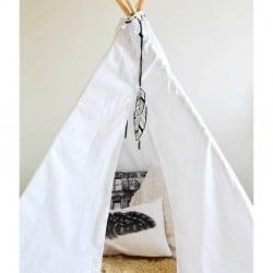 Wishlist voor Ifan's nieuwe kamer - Tipi Tent Wit