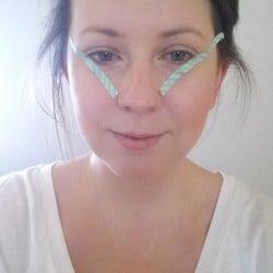 Winged eyeliner ;-)