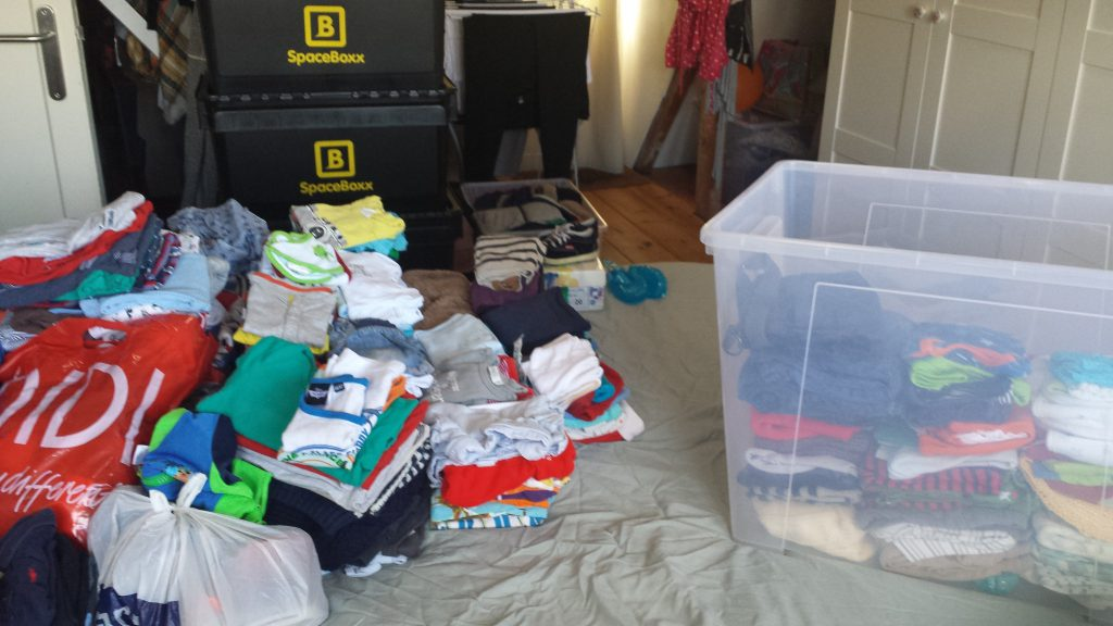 Babykleding van Ifan weer terug uit de opslag
