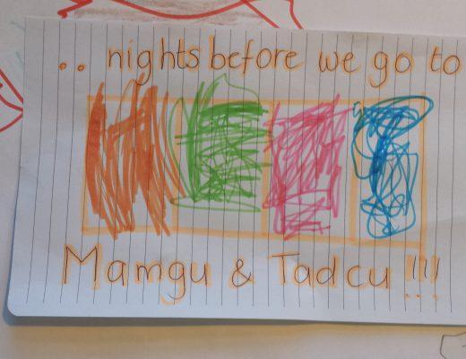 Op naar Mamgu en Tadcu!