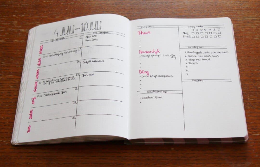 Bullet Journal   Voor alle lijstjes lovers!