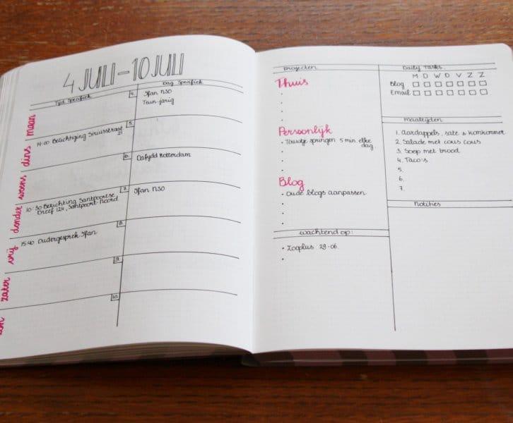 Bullet Journal | Voor alle lijstjes lovers!