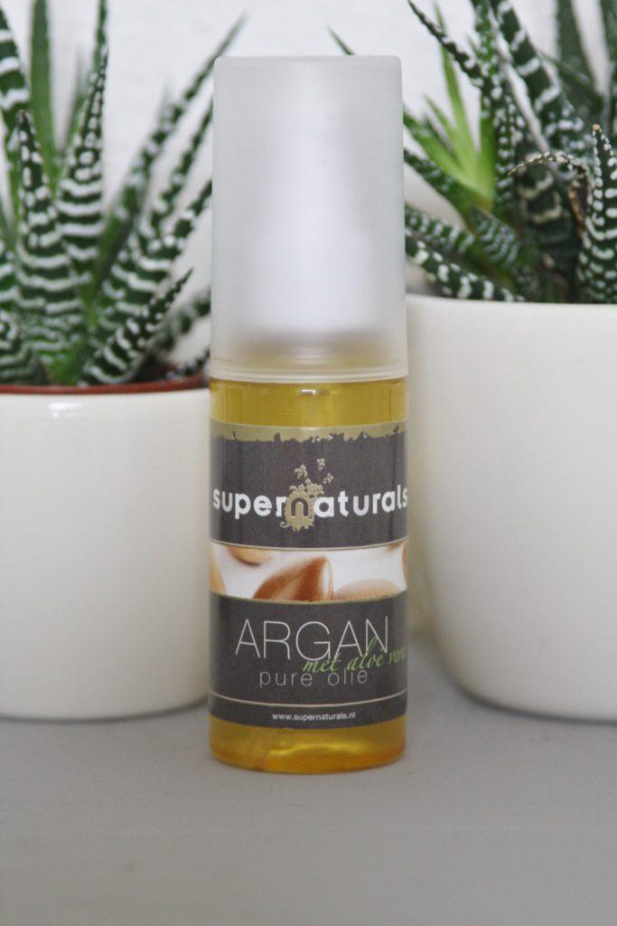 Argan olie met aloë vera