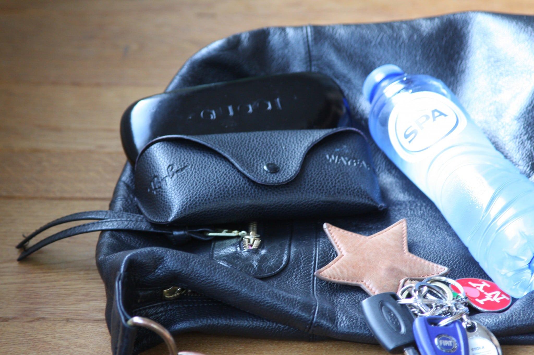 Inhoud van mijn tas