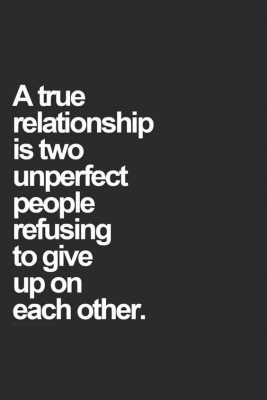 True relationship - Favoriete Quotes