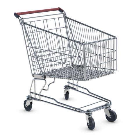 Driftbui in de supermarkt