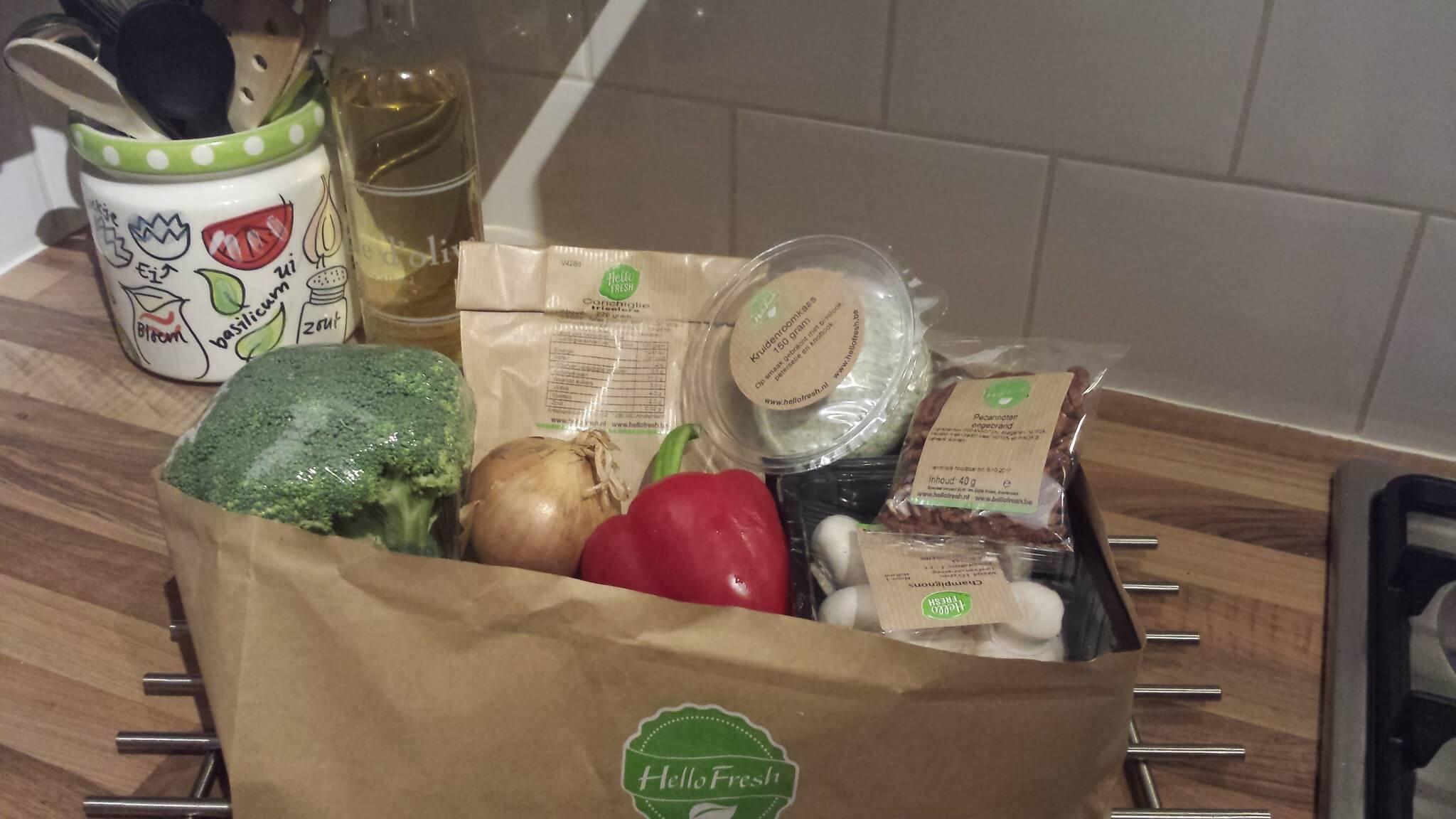 Put it to the test | De Hello Fresh box
