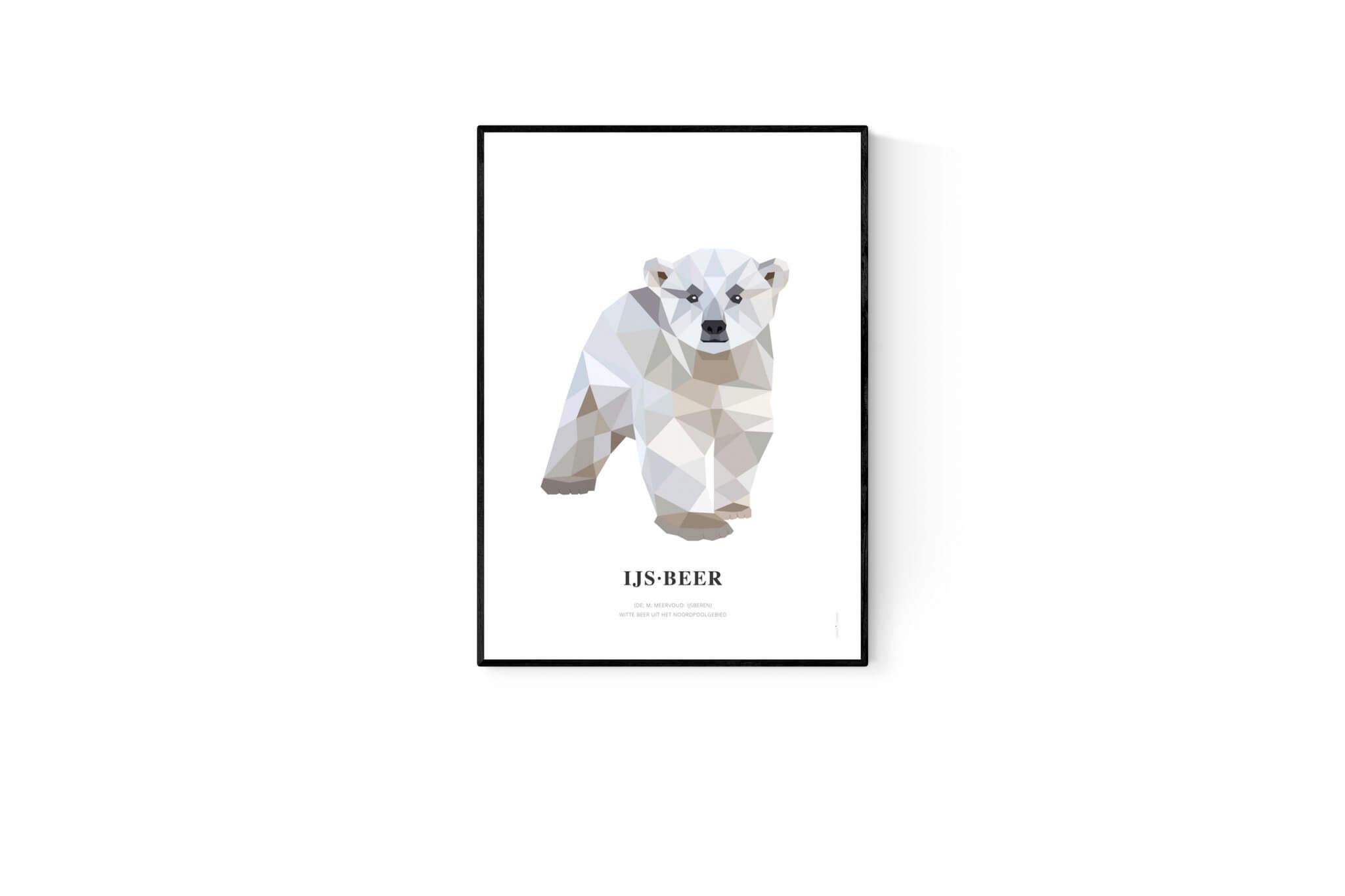 Geometric Wildlife posters van Tinkle&Cherry