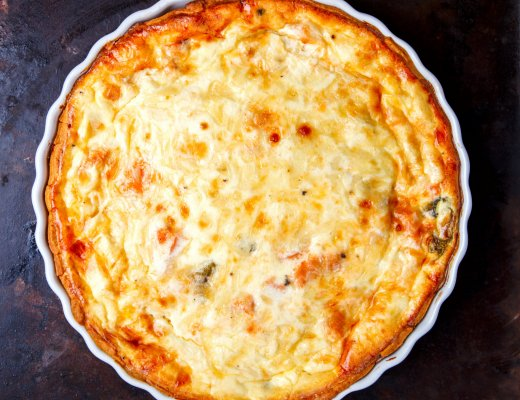 Recept   Easy Peasy Quiche Lorraine