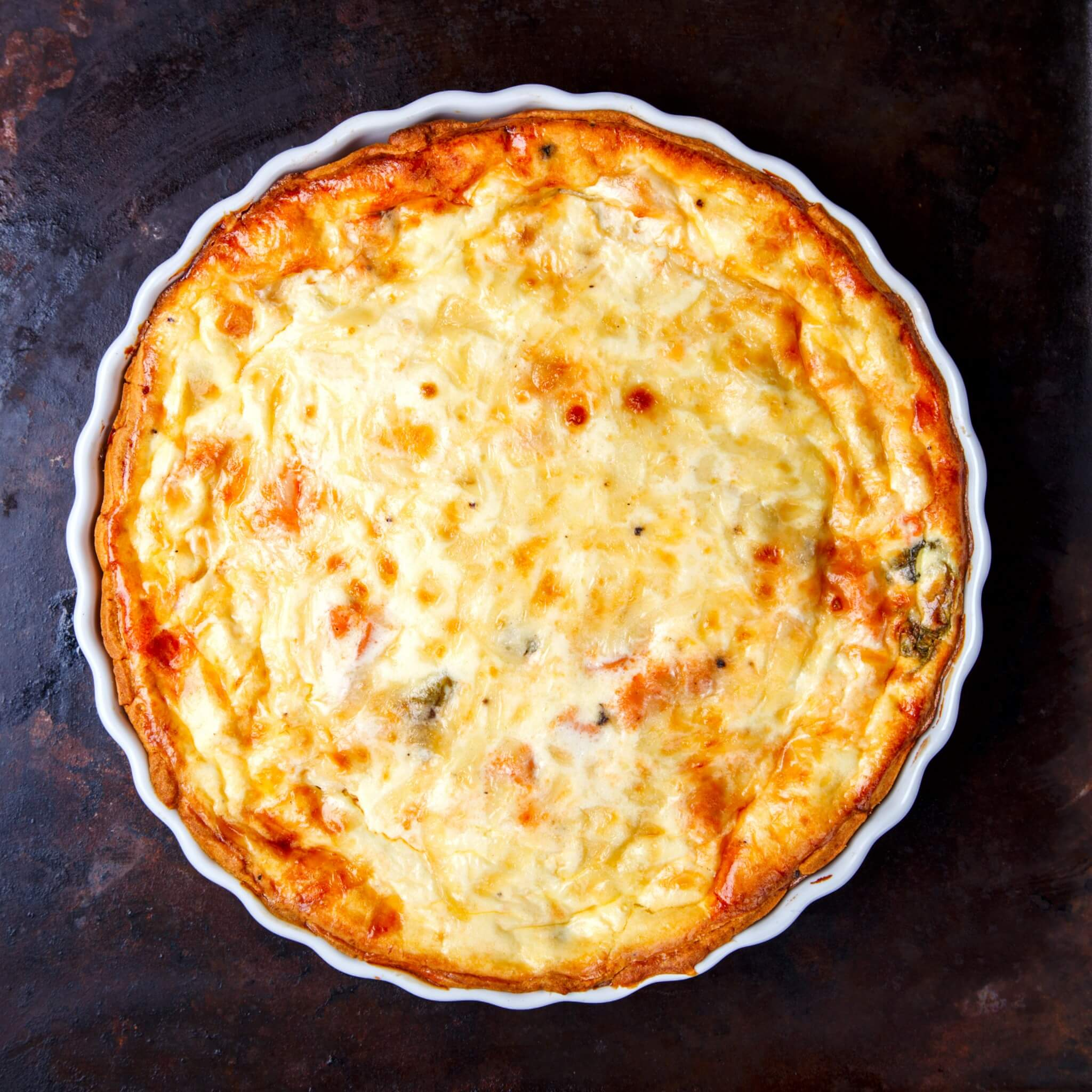 Recept | Easy Peasy Quiche Lorraine