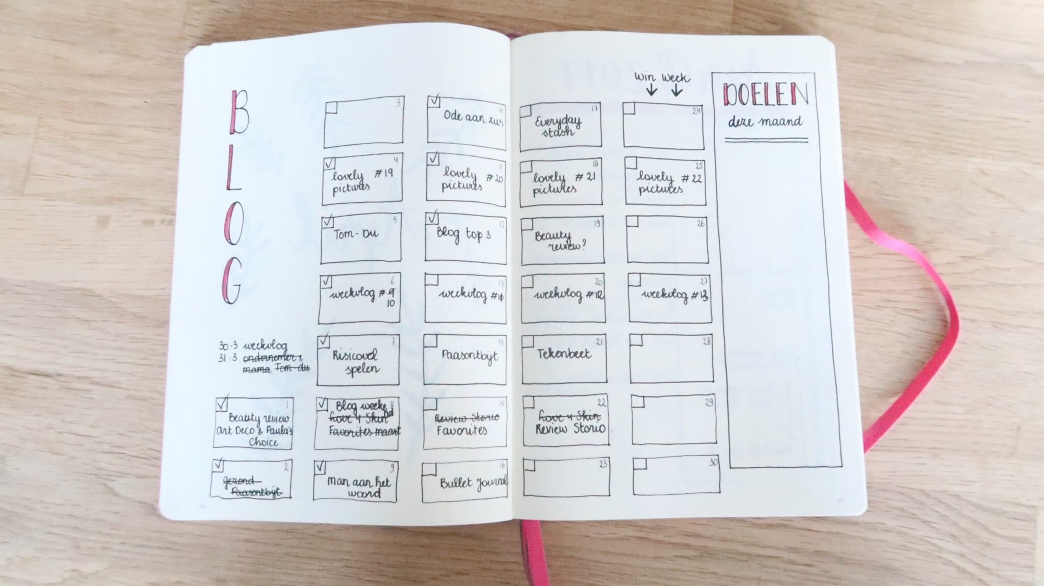 Bullet Journal | Minder stress door planning en overzicht!