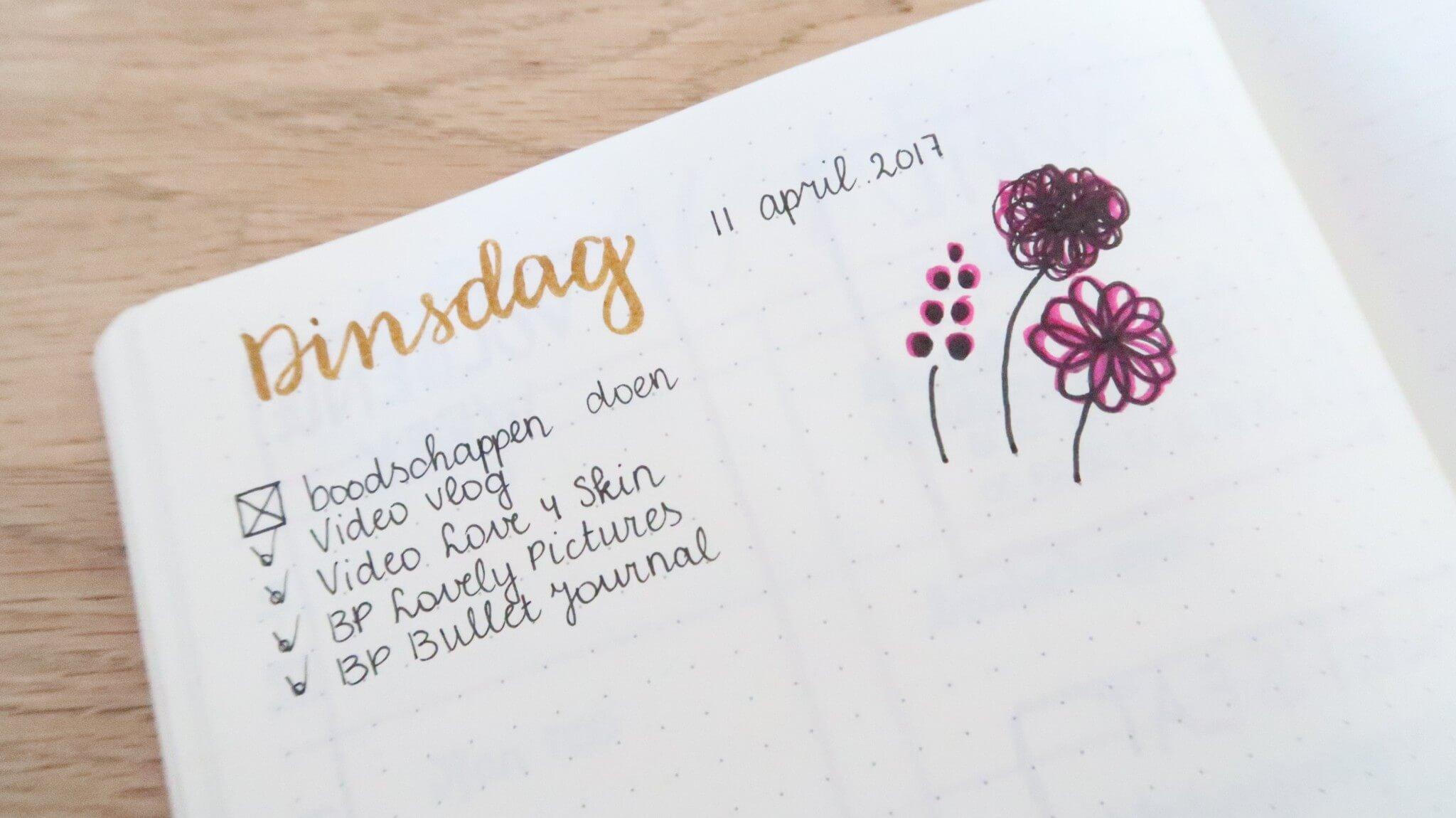 Bullet Journal | Minder stress door planning en overzicht!