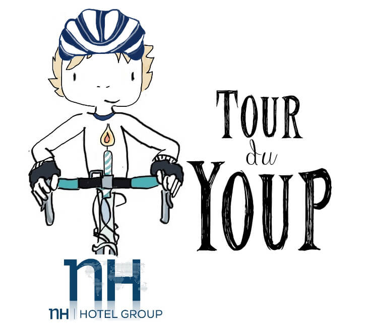 Ik fiets mee met de Tour du Youp tegen neuroblastoom kinderkanker!