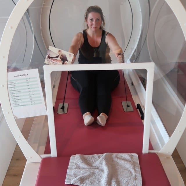 Hot Cabin Workout bij BBB Health Boutique