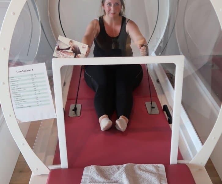Hot Cabin Workout bij BBB Health Boutique