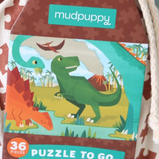 LC ♡ Giveaways #1 | Puzzle To Go Dinosaur Park van Mudpuppy