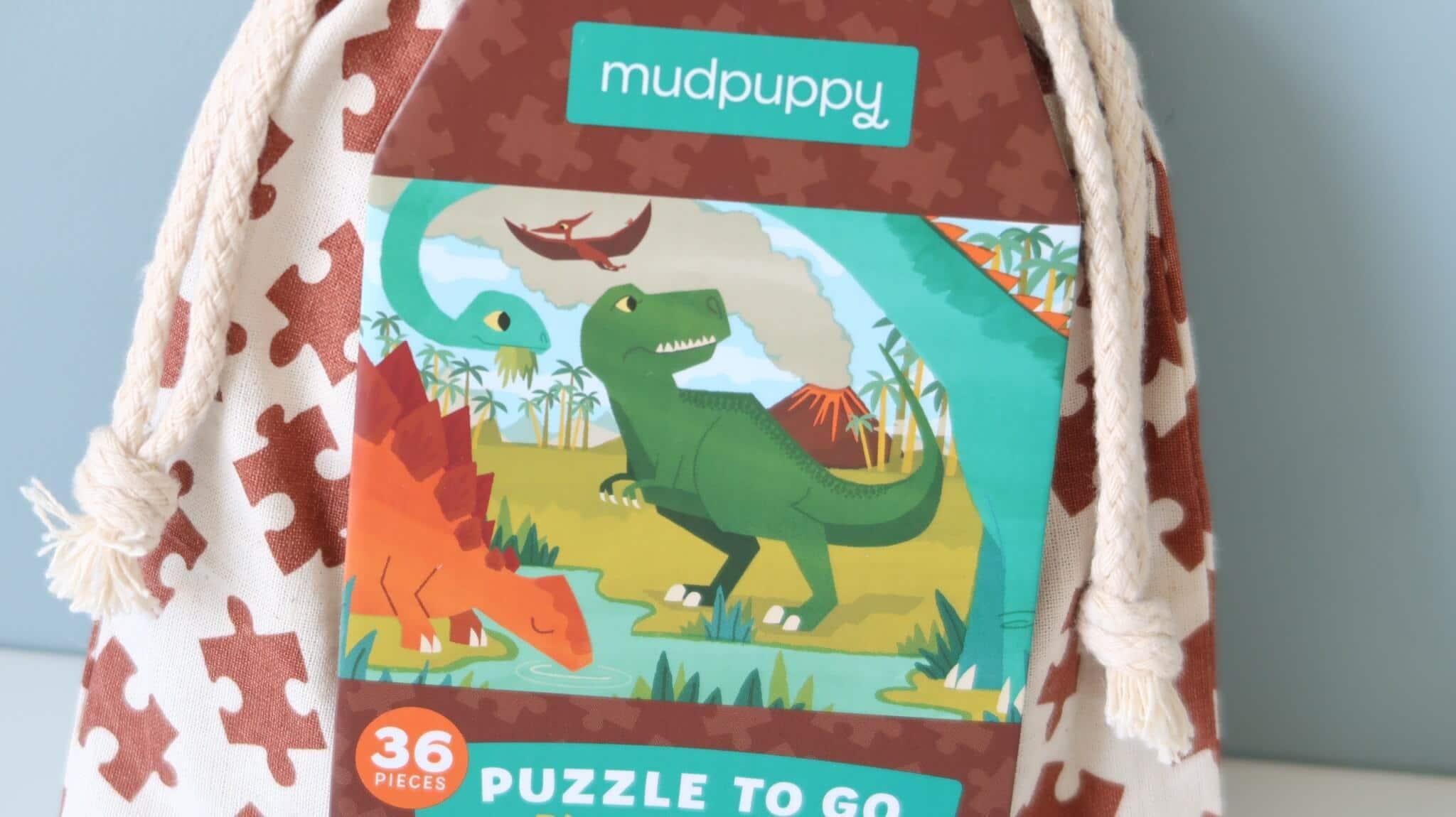 LC ♡ Giveaways #1   Puzzle To Go Dinosaur Park van Mudpuppy
