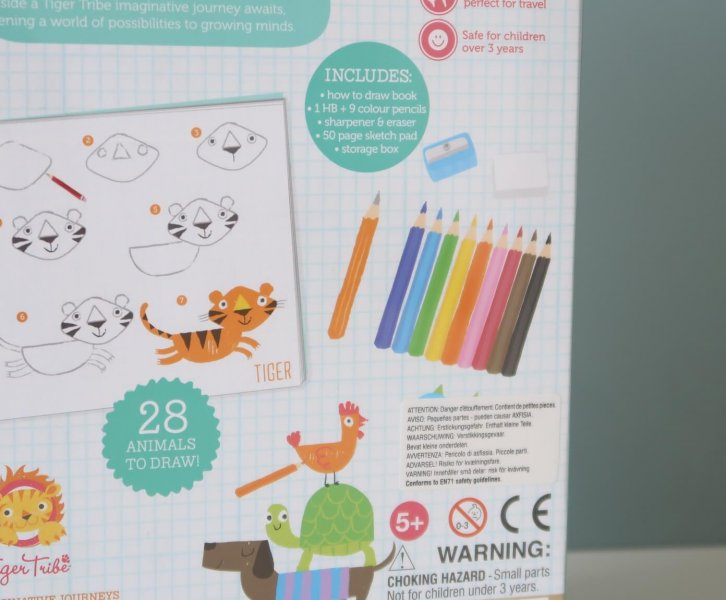 LC ♡ Giveaways   #2 How To Draw Animals van Tiger Tribe