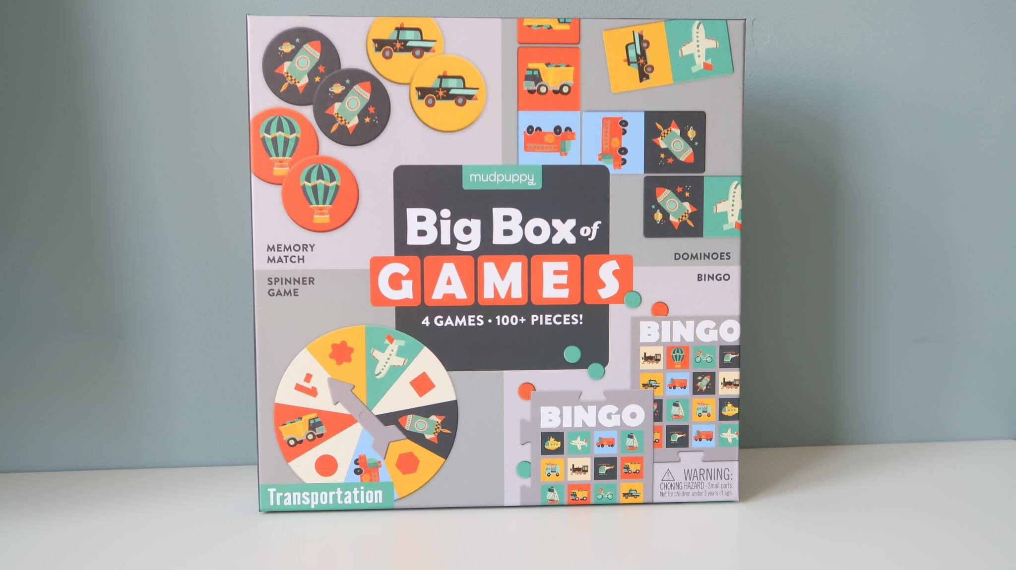 LC ♡ Giveaways | #6 Box of Games Transportation van Mudpuppy