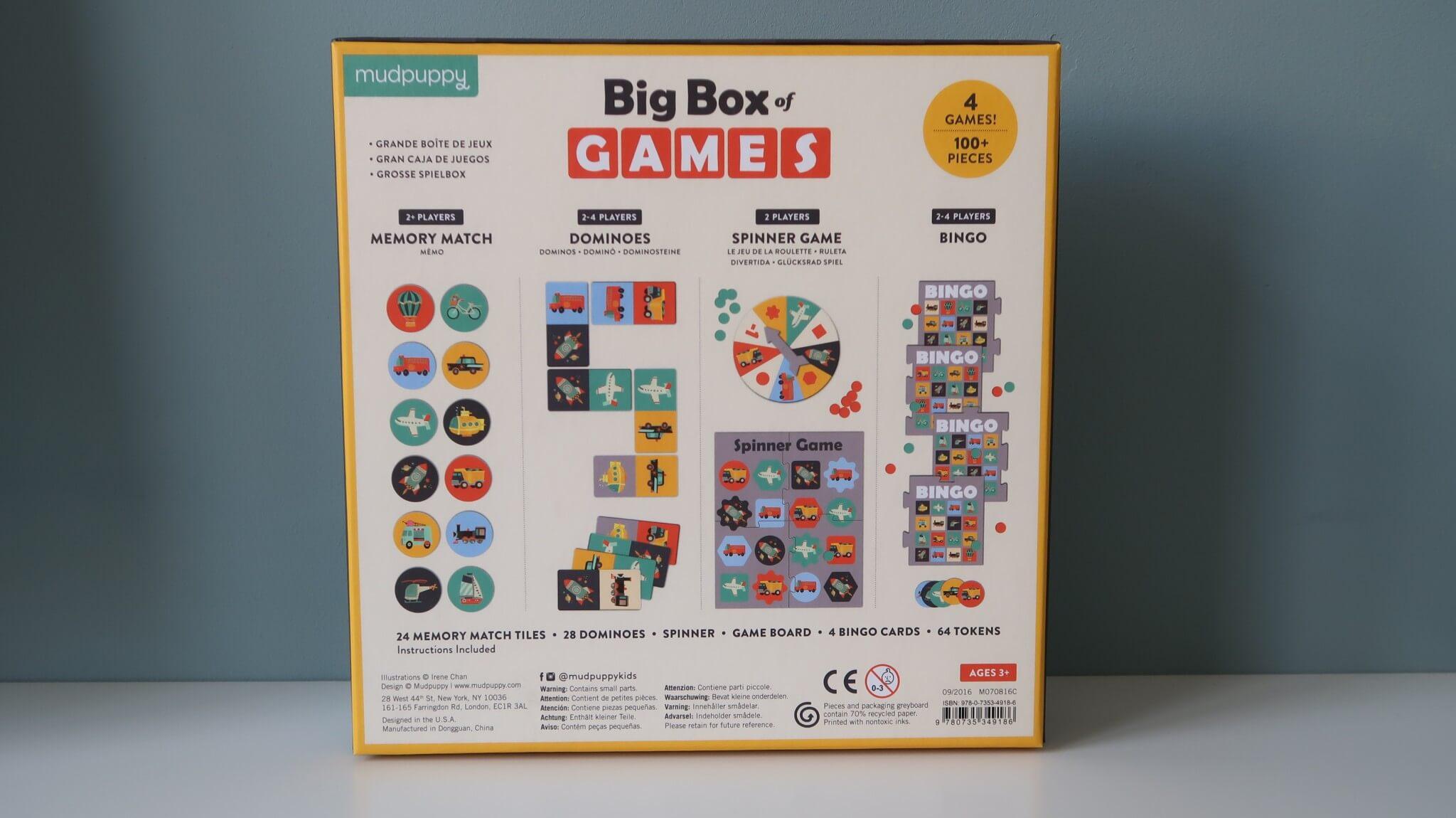 LC ♡ Giveaways   #6 Box of Games Transportation van Mudpuppy