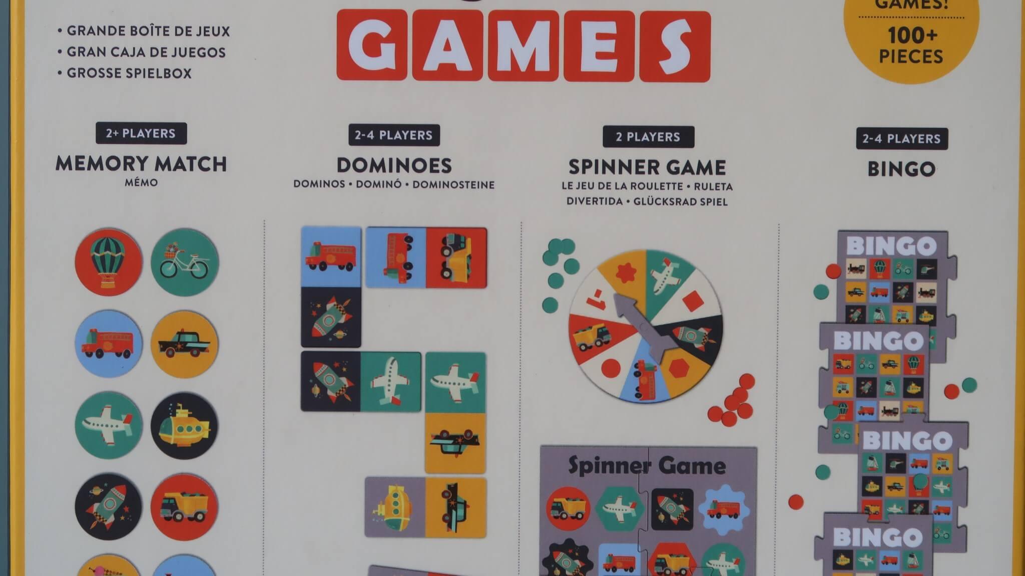 LC ♡ Giveaways | #6 Box of Games Transportation van Mudpuppy