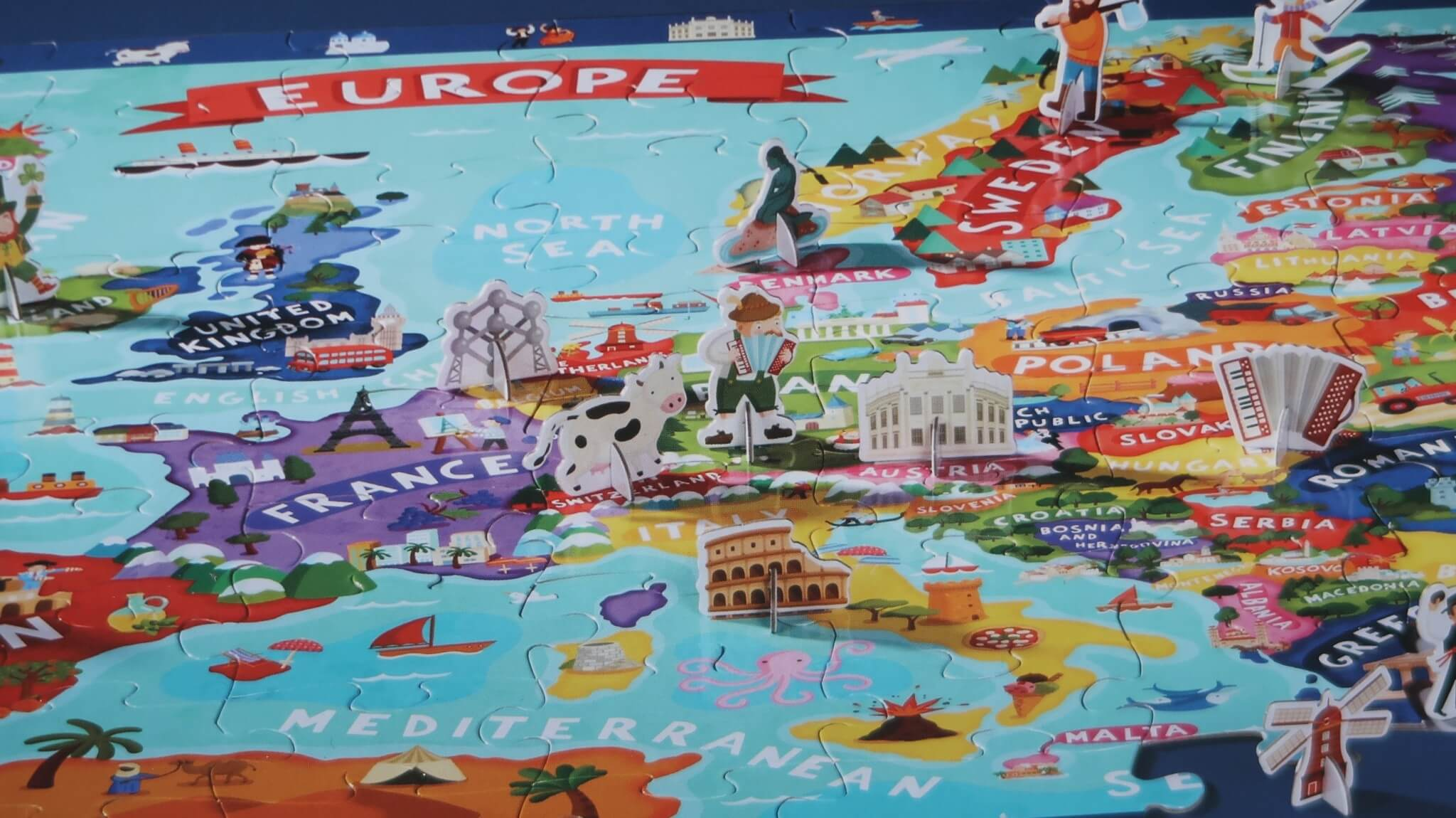 LC ♡ Giveaways | #7 Discover Puzzle Europe van Crocodile Creek