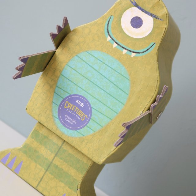 LC ♡ Giveaways   #3 Creature Puzzle Monster van Crocodile Creek