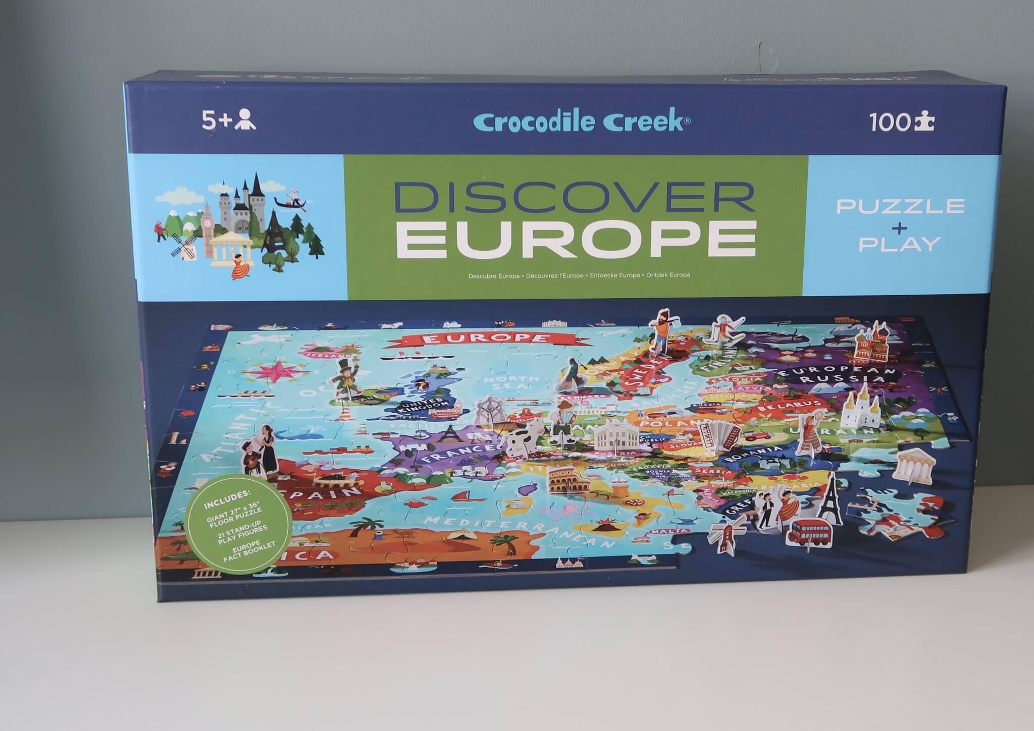 LC ♡ Giveaways | #7 Discover Puzzle Europe van Crocodile Creek