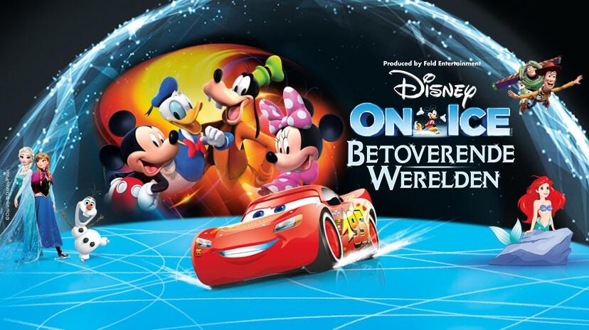 Win 4 zilveren tickets voor Disney on Ice presenteert Betoverende Werelden!