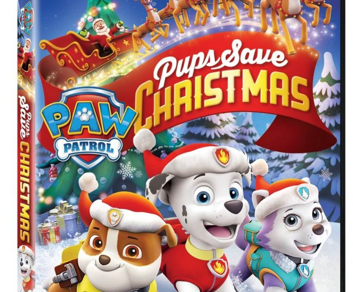 Verjaardag Giveaway #23 | DVD Paw Patrol Saves Christmas