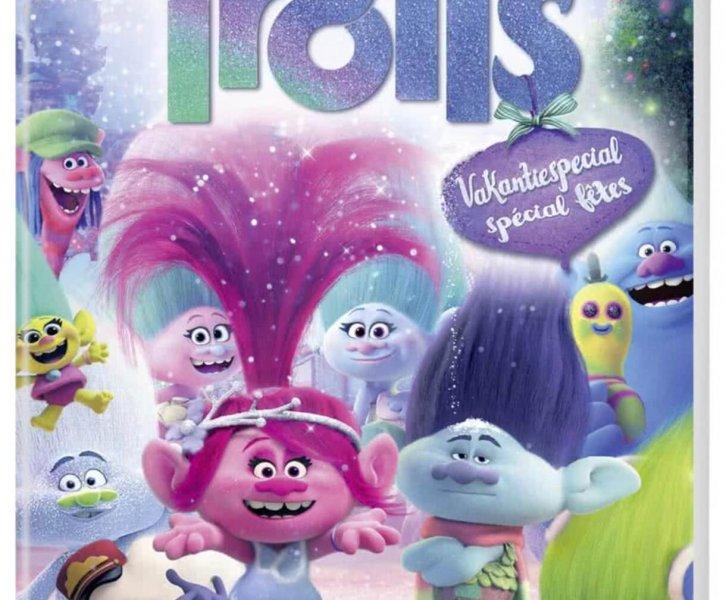 Verjaardag Giveaway #17   DVD Trolls Holiday Special