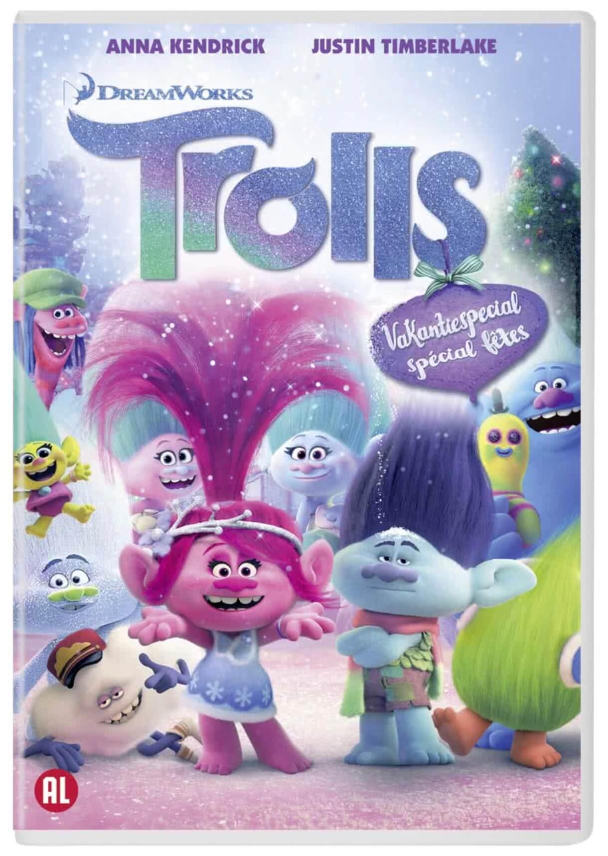 Verjaardag Giveaway #17 | DVD Trolls Holiday Special