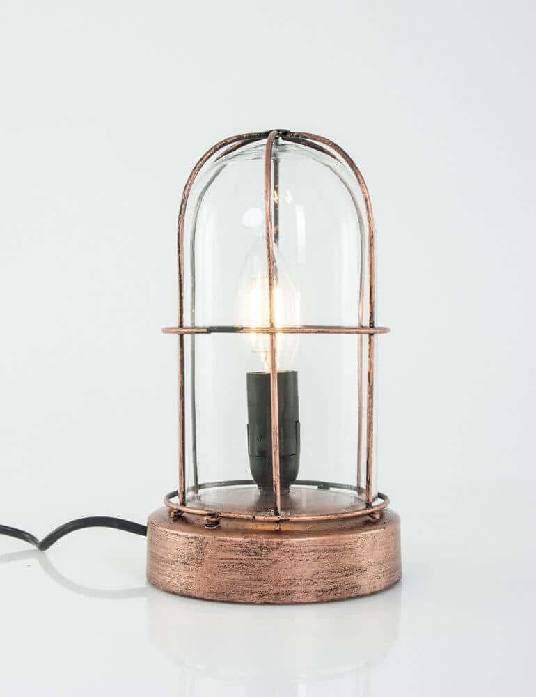 Verjaardag Giveaway #14 | Koperkleurige stolplamp