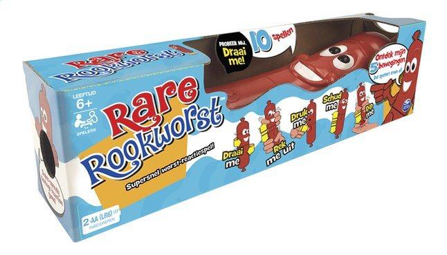 Verjaardag Giveaway #8 | 2x spel Rare Rookworst