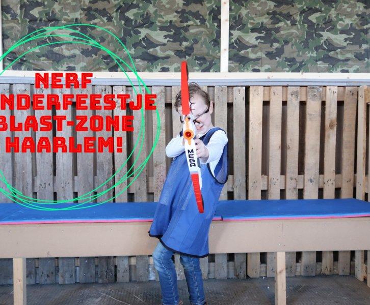 Blast-Zone Haarlem, het ideale kinderfeestje!
