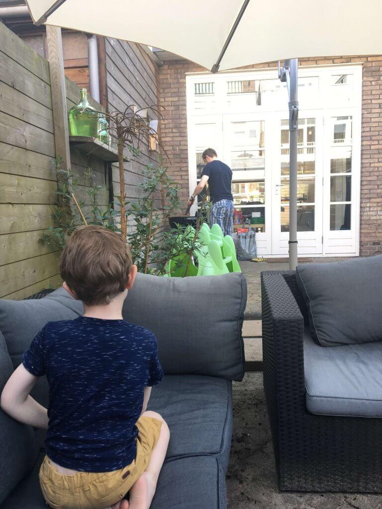 Geluksmomentjes #1 | Bbq'en met je gezin