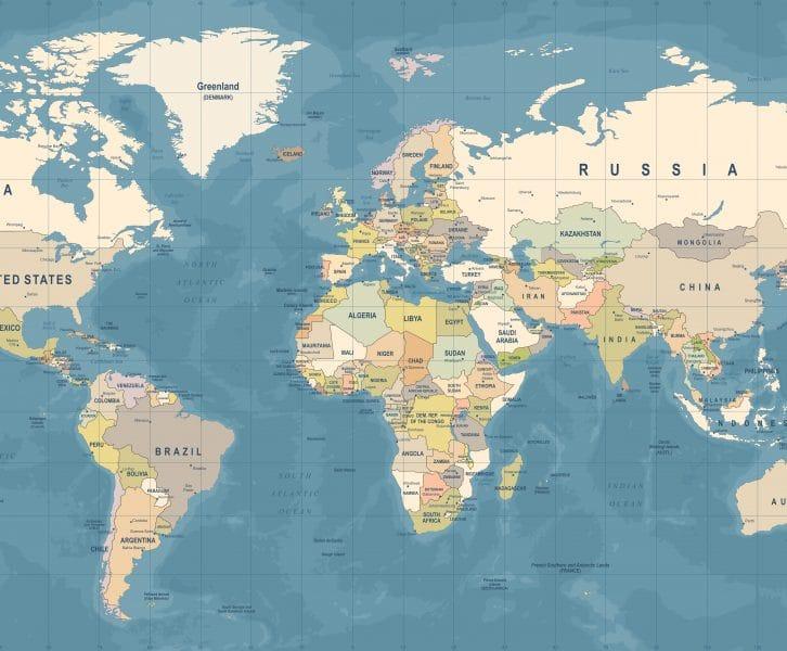 Wereldkaarten | Dé trend voor aan de wand!