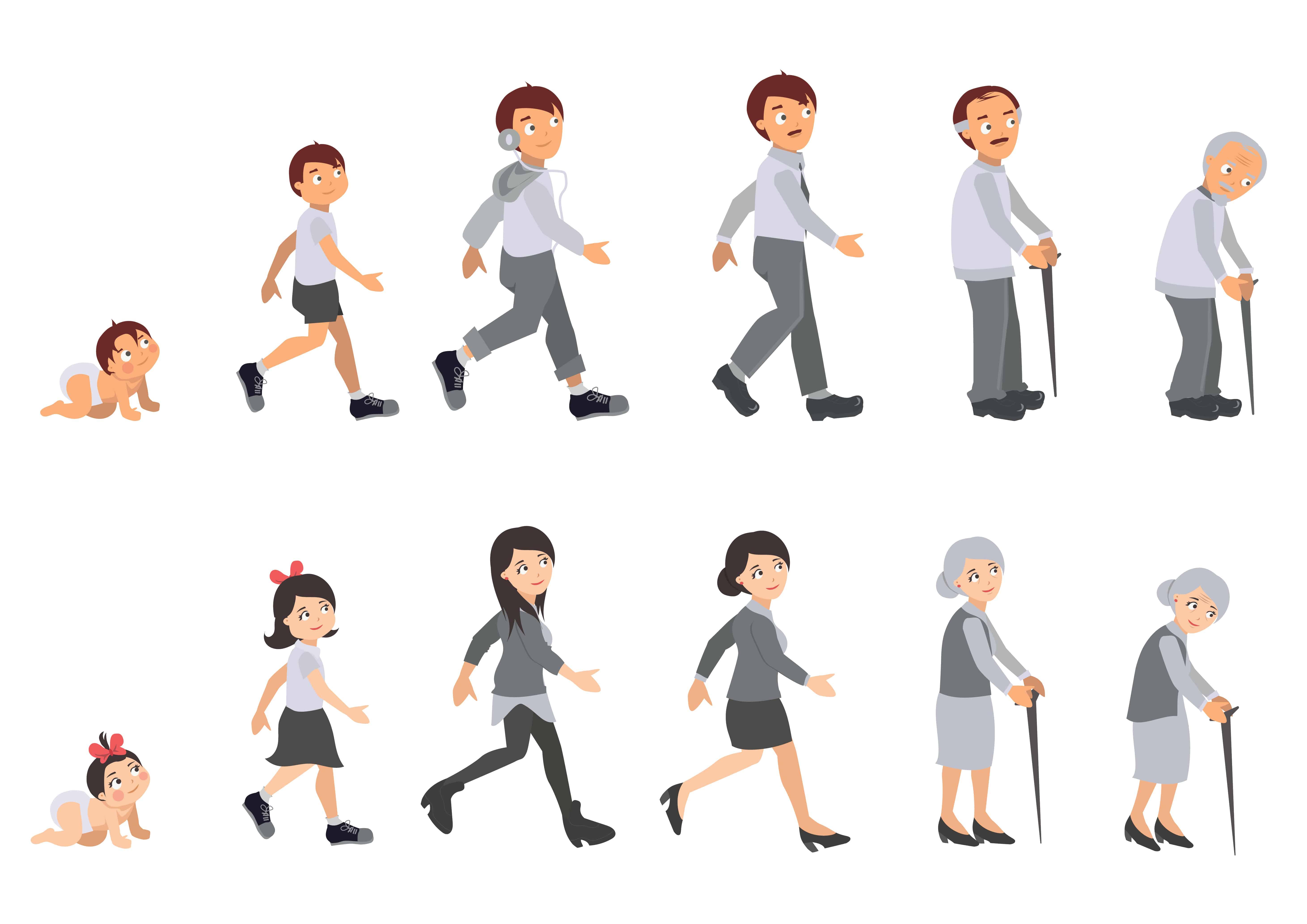 De voor- en nadelen van ouder worden