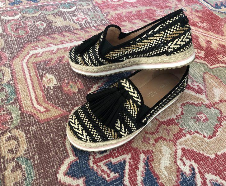Een duurzamer leven met duurzame fashion! | TOMS Palma Tassel Espadrilles